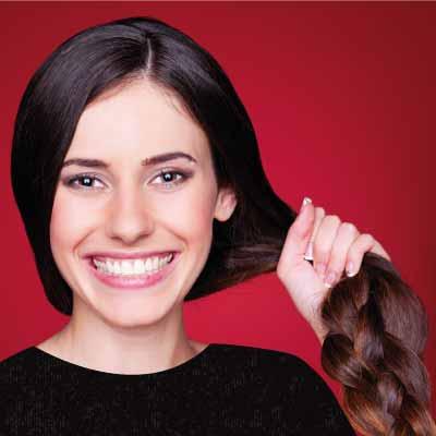 Stimulates hair growth, improves hair density and vitality